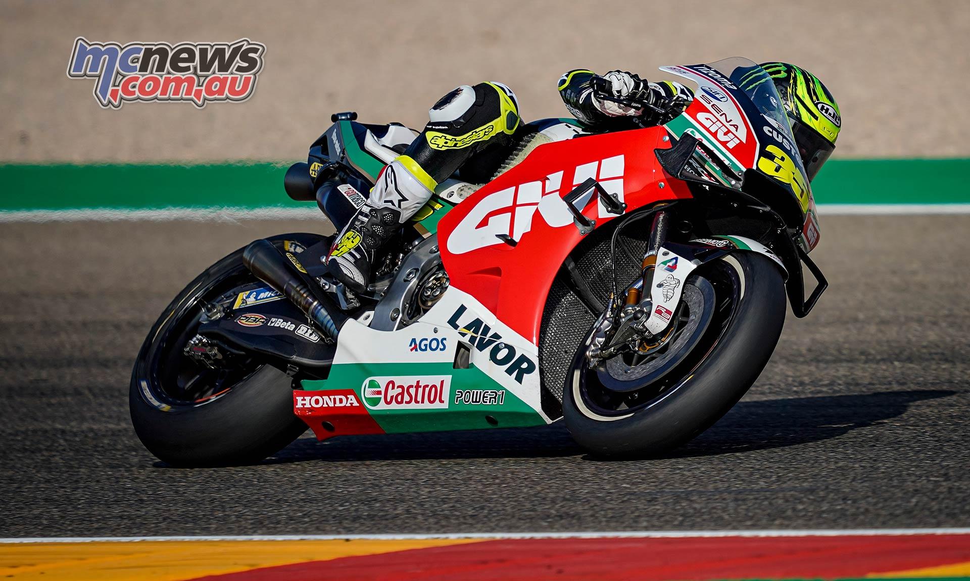 MotoGP Rnd Aragon QP Crutchlow