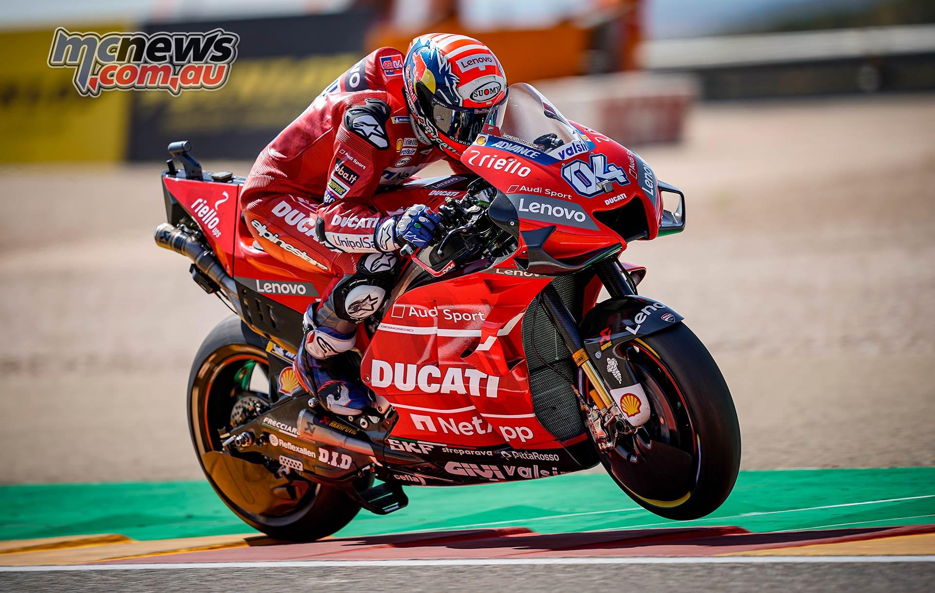 MotoGP Rnd Aragon QP Dovizioso