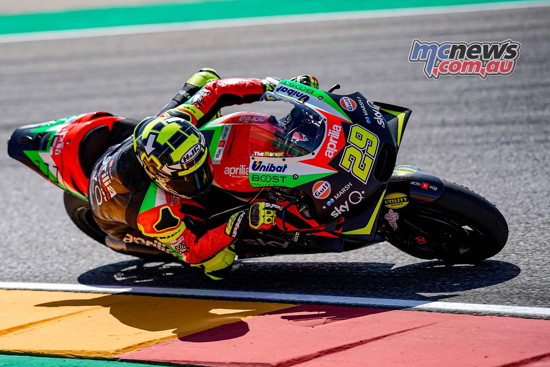 MotoGP Rnd Aragon QP Iannone