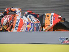 MotoGP Rnd Aragon QP Marquez