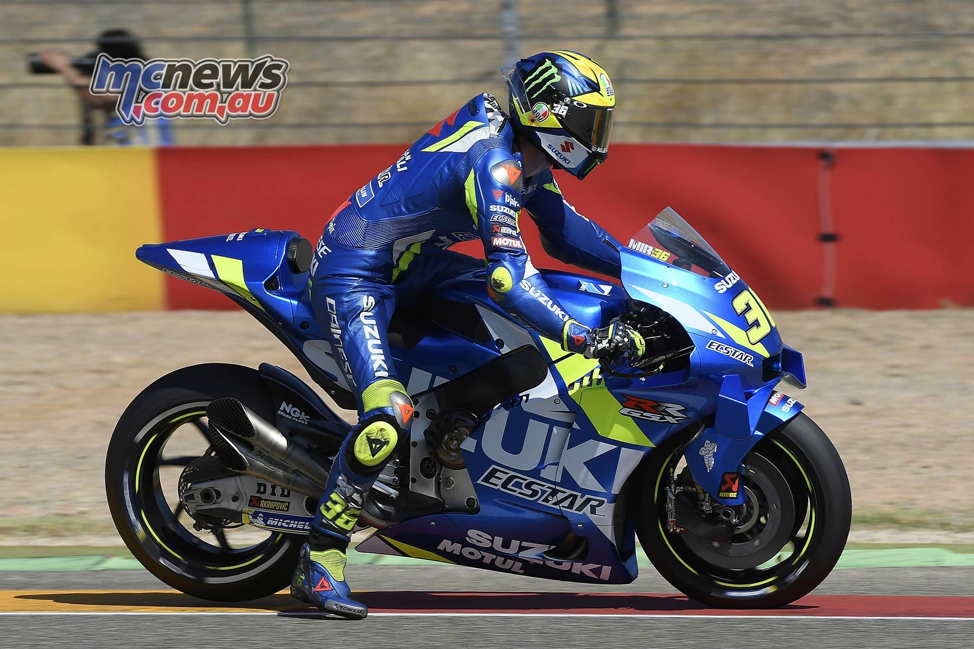 MotoGP Rnd Aragon QP Mir