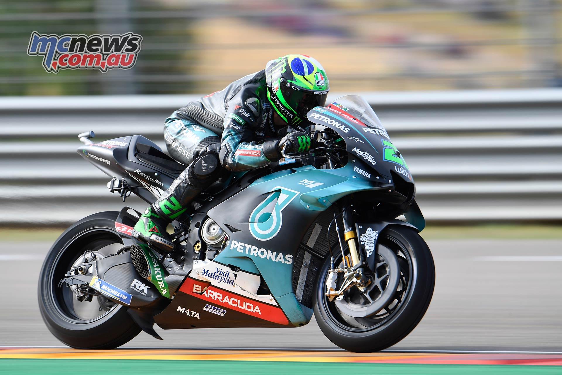 MotoGP Rnd Aragon QP Morbidelli
