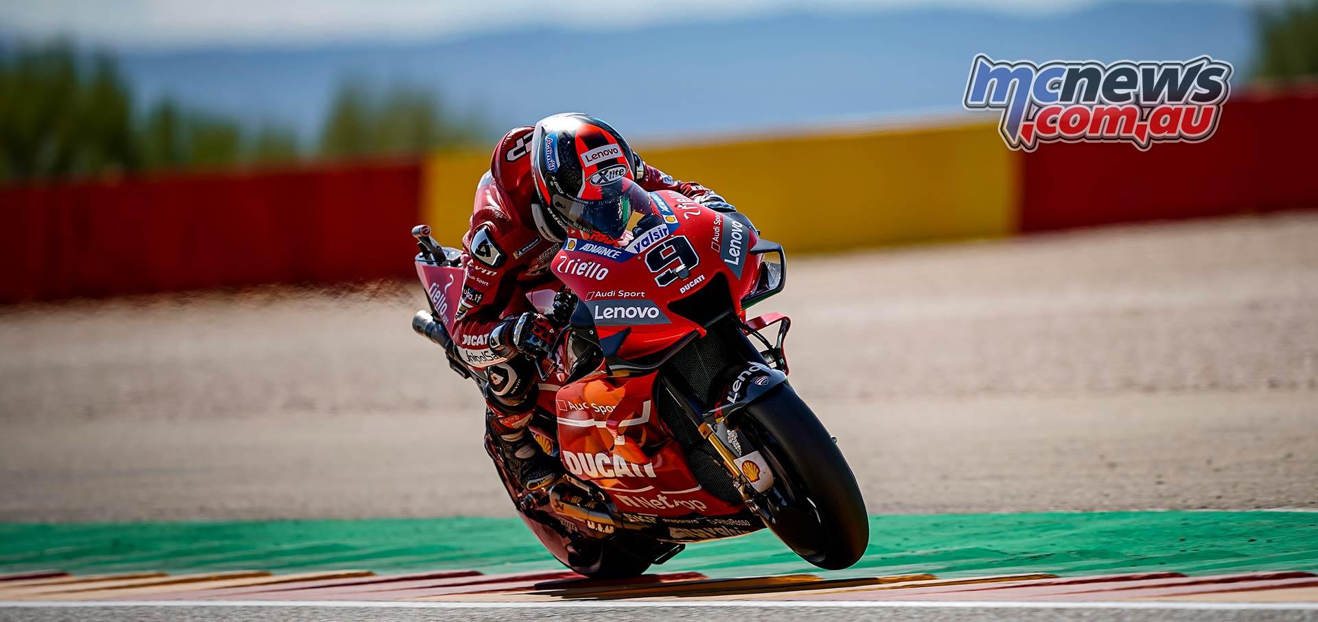MotoGP Rnd Aragon QP Petrucci