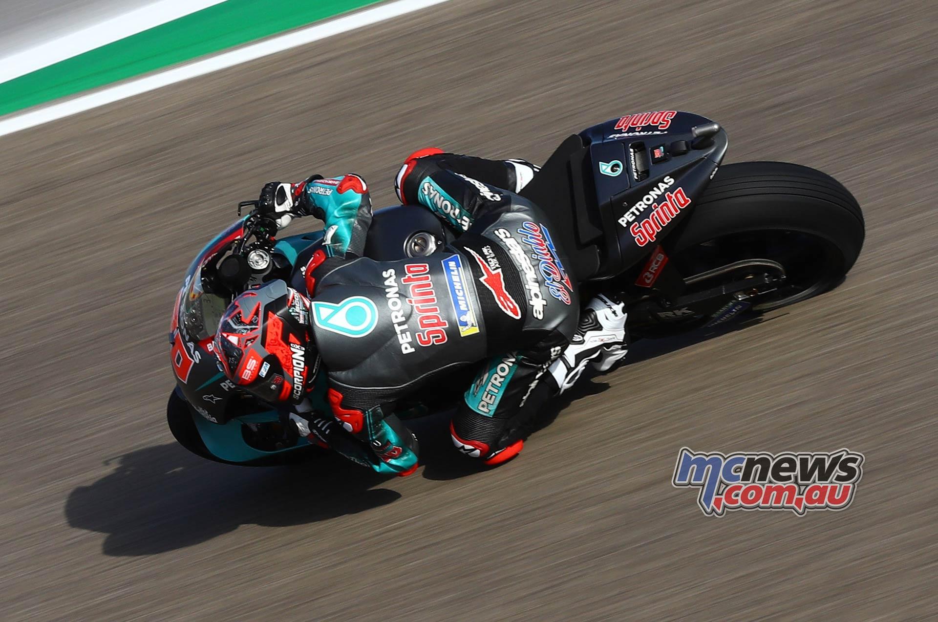 MotoGP Rnd Aragon QP Quartararo