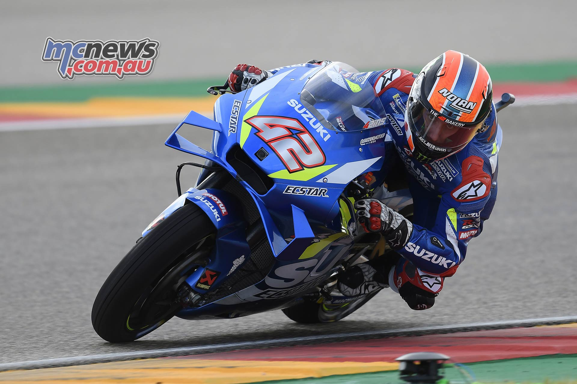 MotoGP Rnd Aragon QP Rins