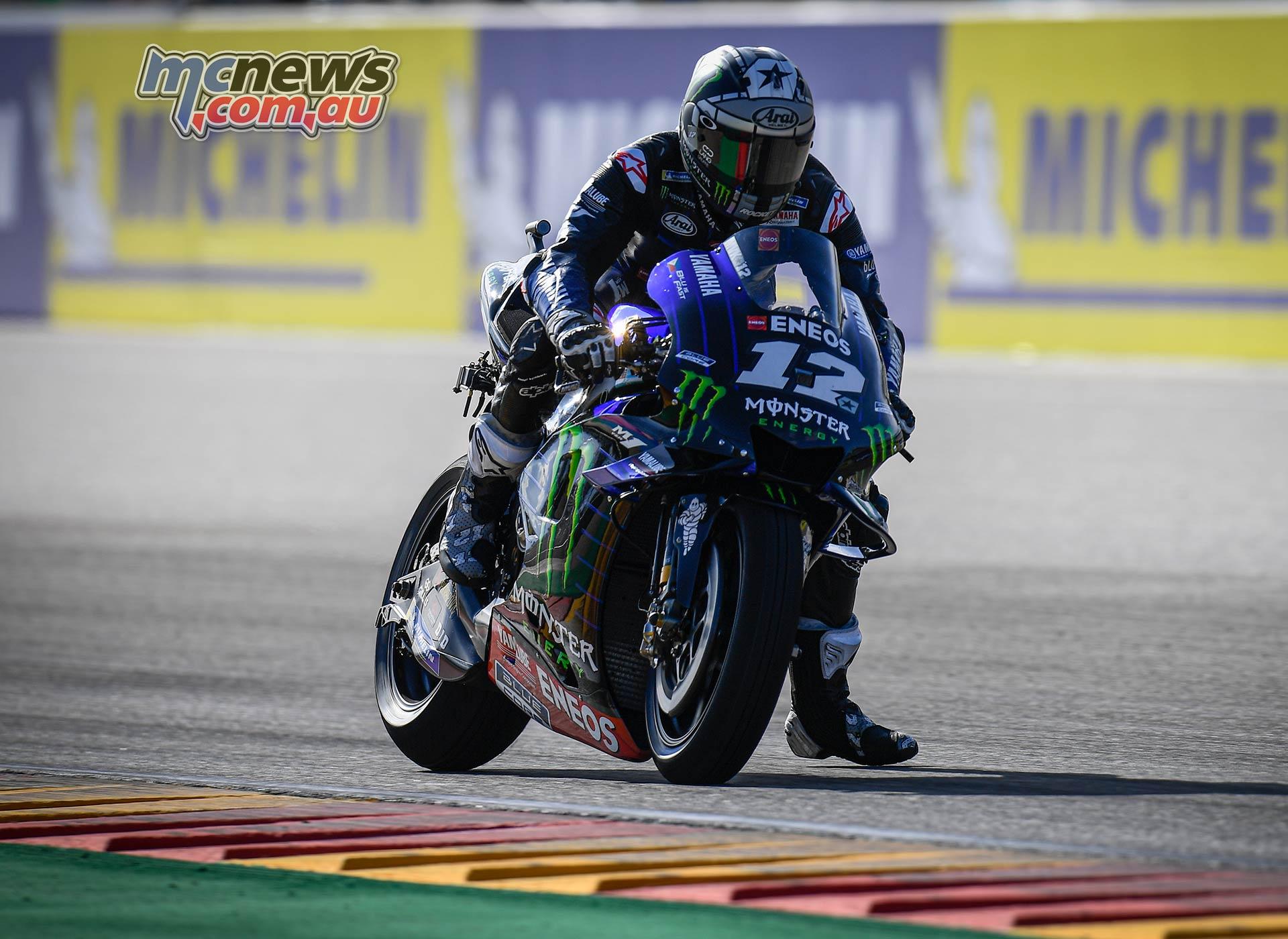 MotoGP Rnd Aragon QP Vinales