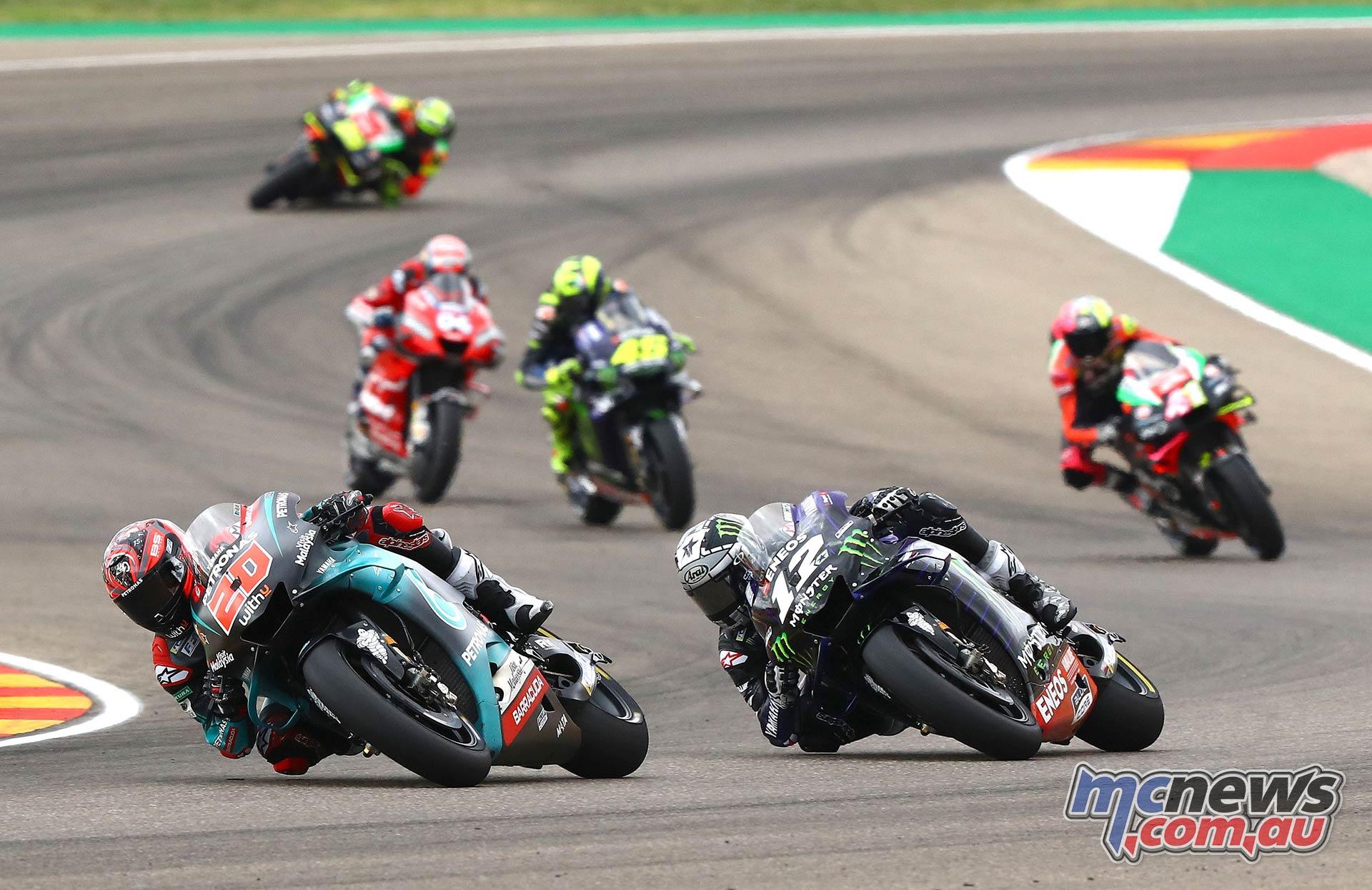 MotoGP Rnd Aragon Quartararo Vinales Espargaro Rossi