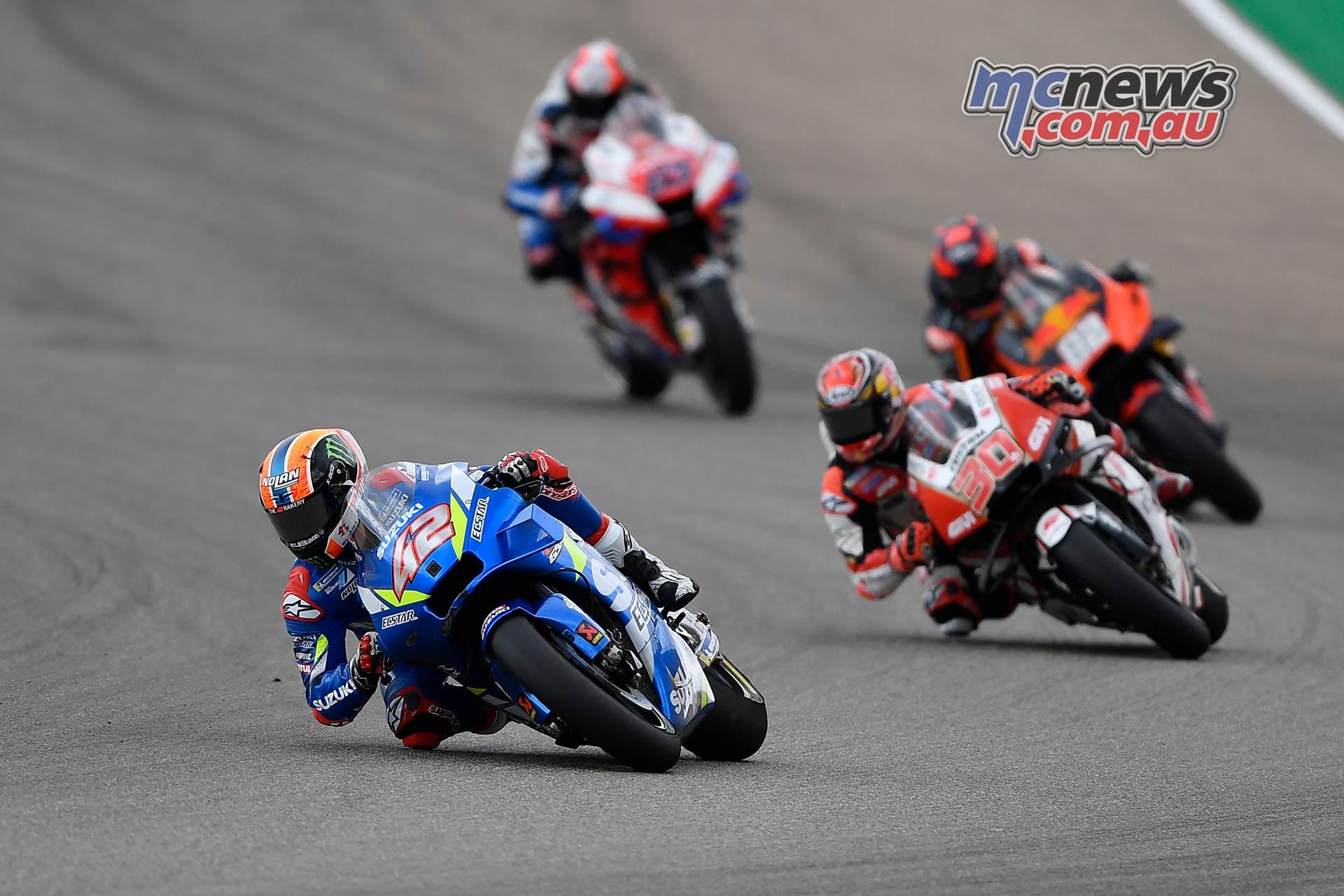 MotoGP Rnd Aragon Rins
