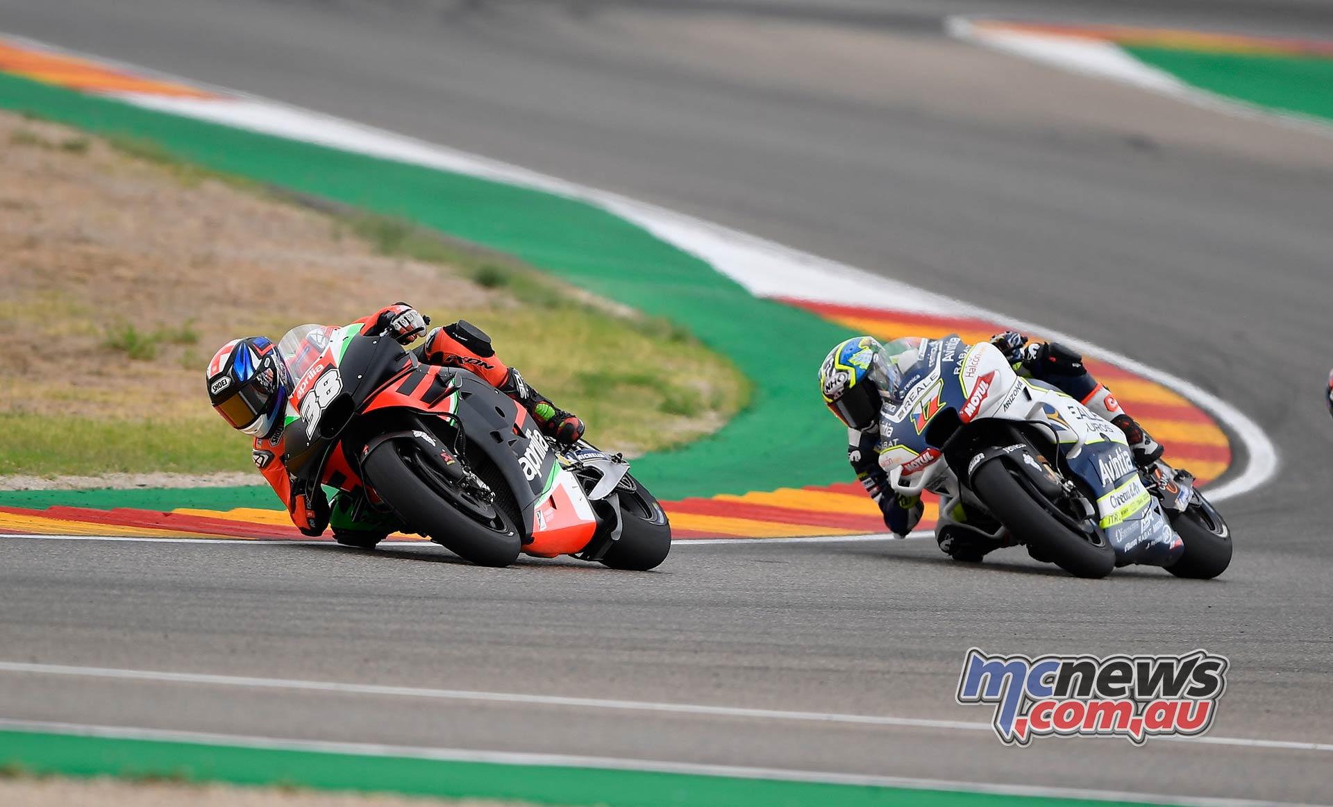 MotoGP Rnd Aragon Smith