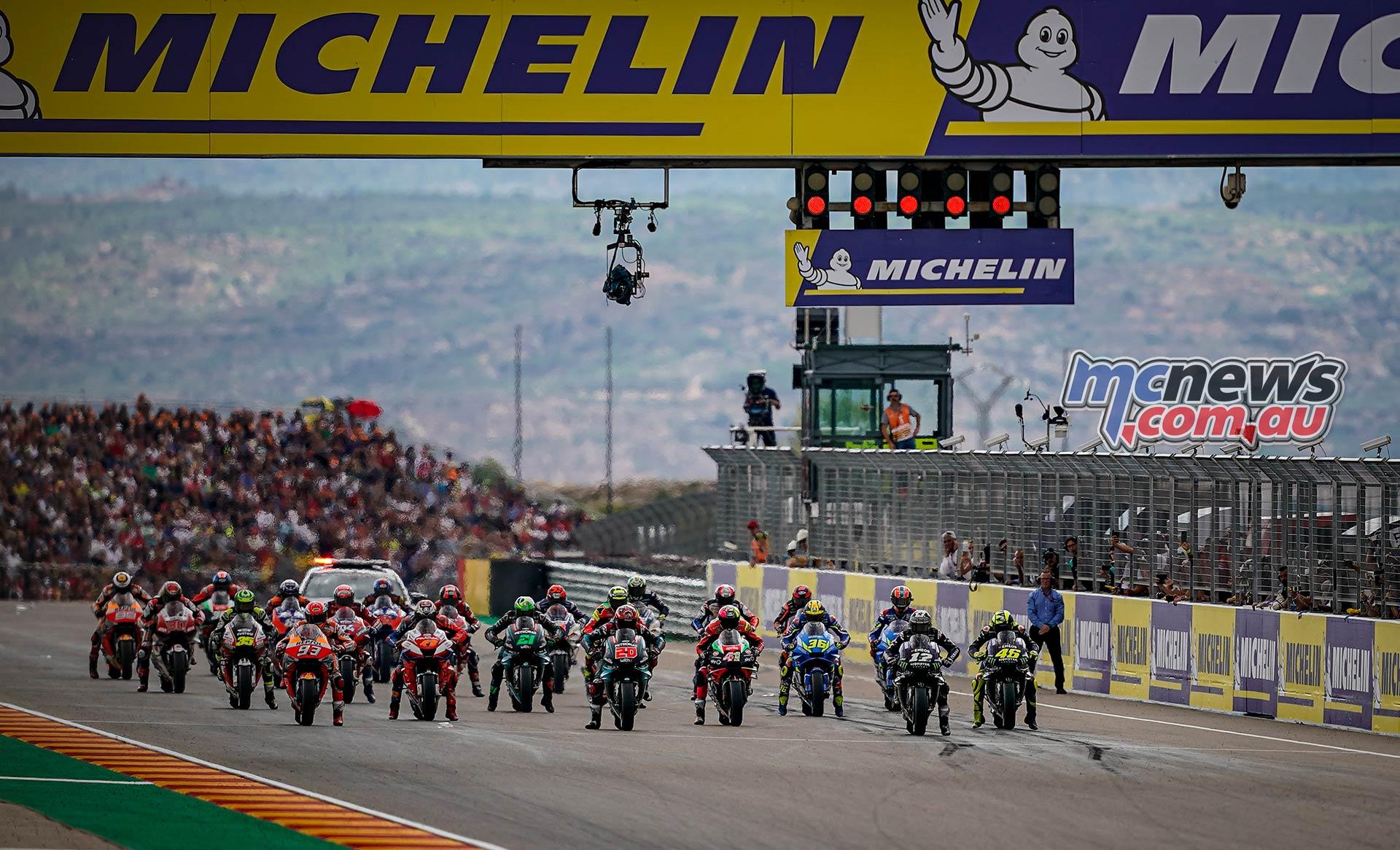 MotoGP Rnd Aragon Start