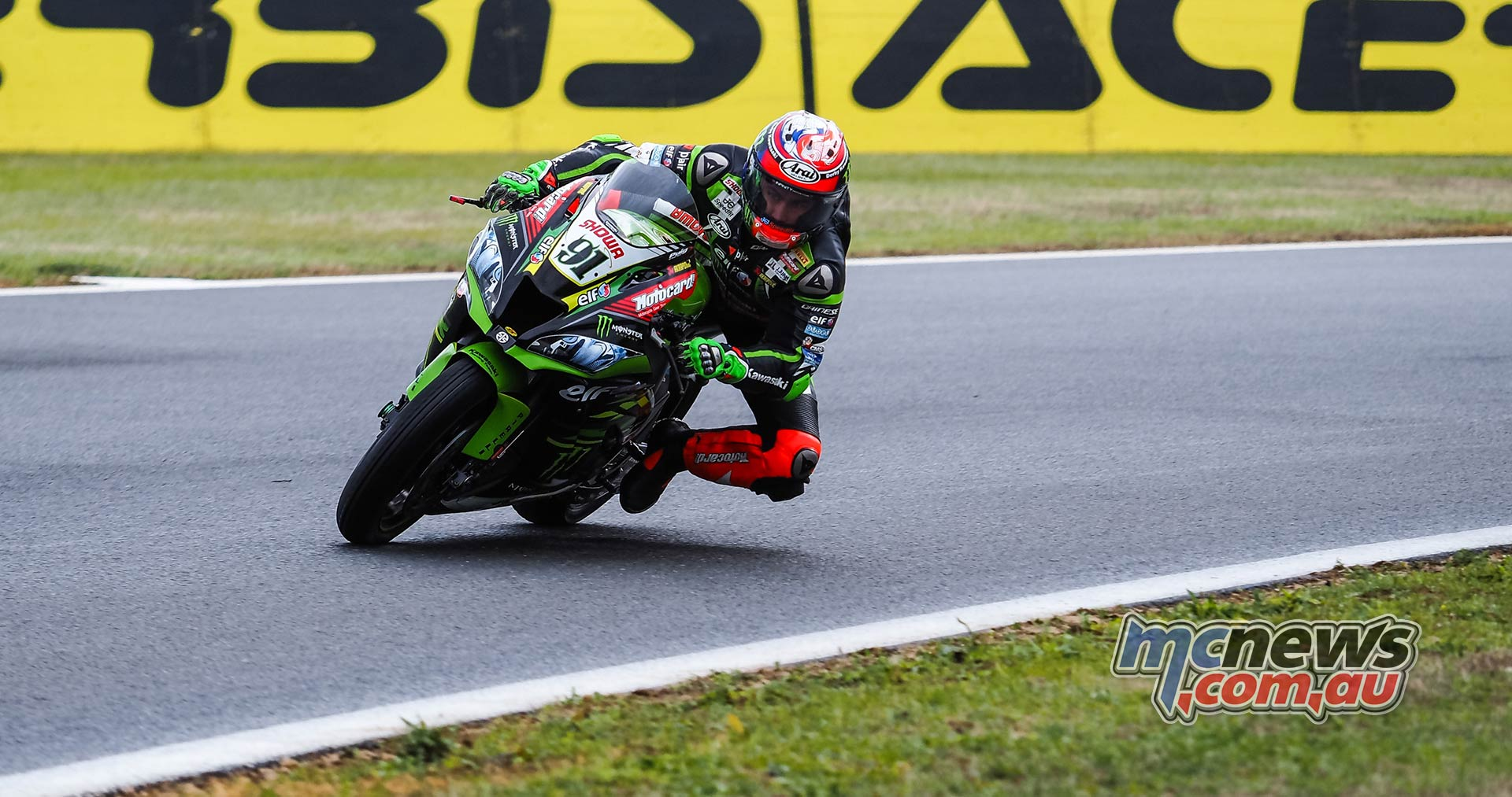 WSBK Rnd Magny Cours WorldSBK Friday Action Haslam