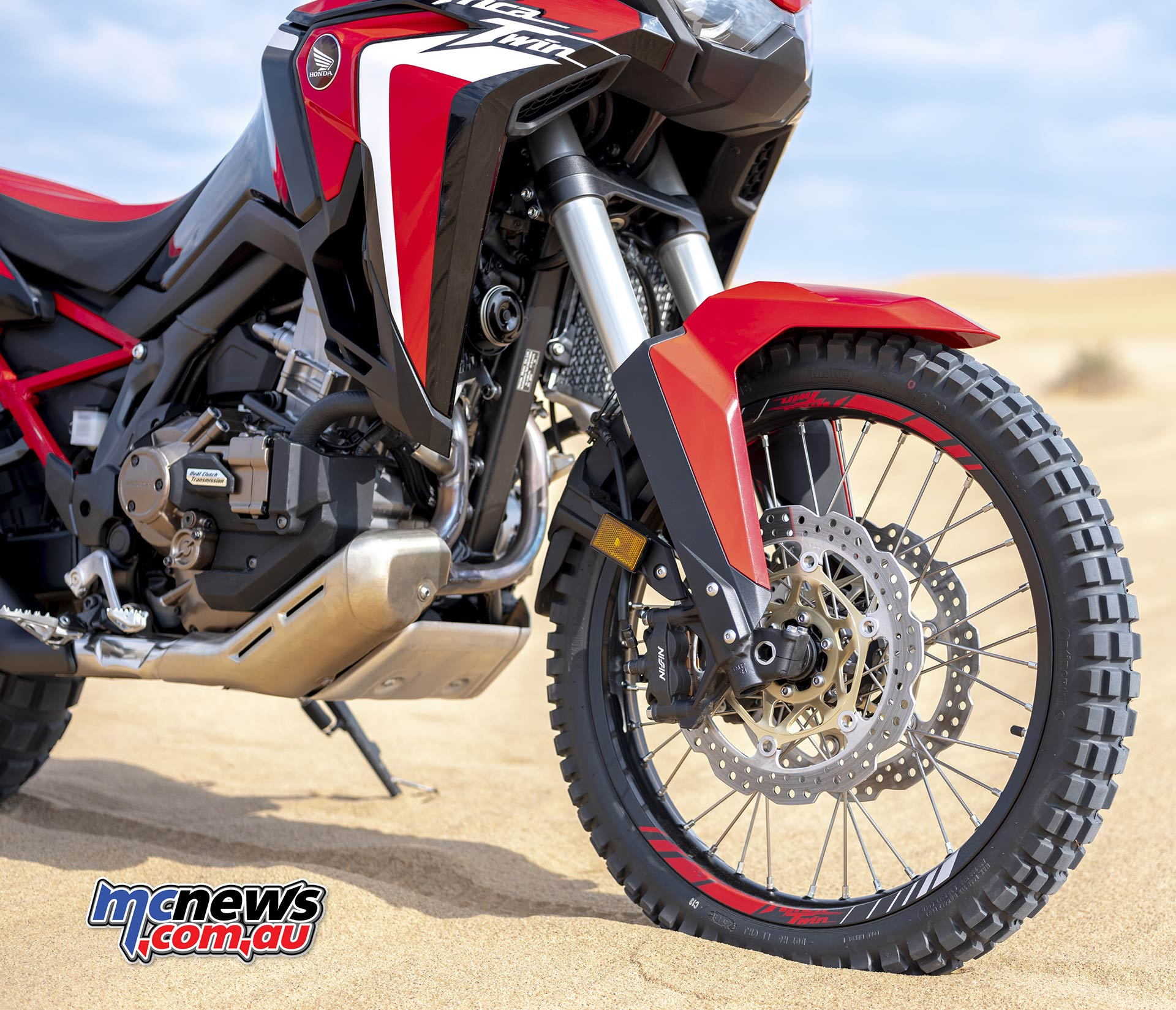 Honda Africa Twin Knobblies Front