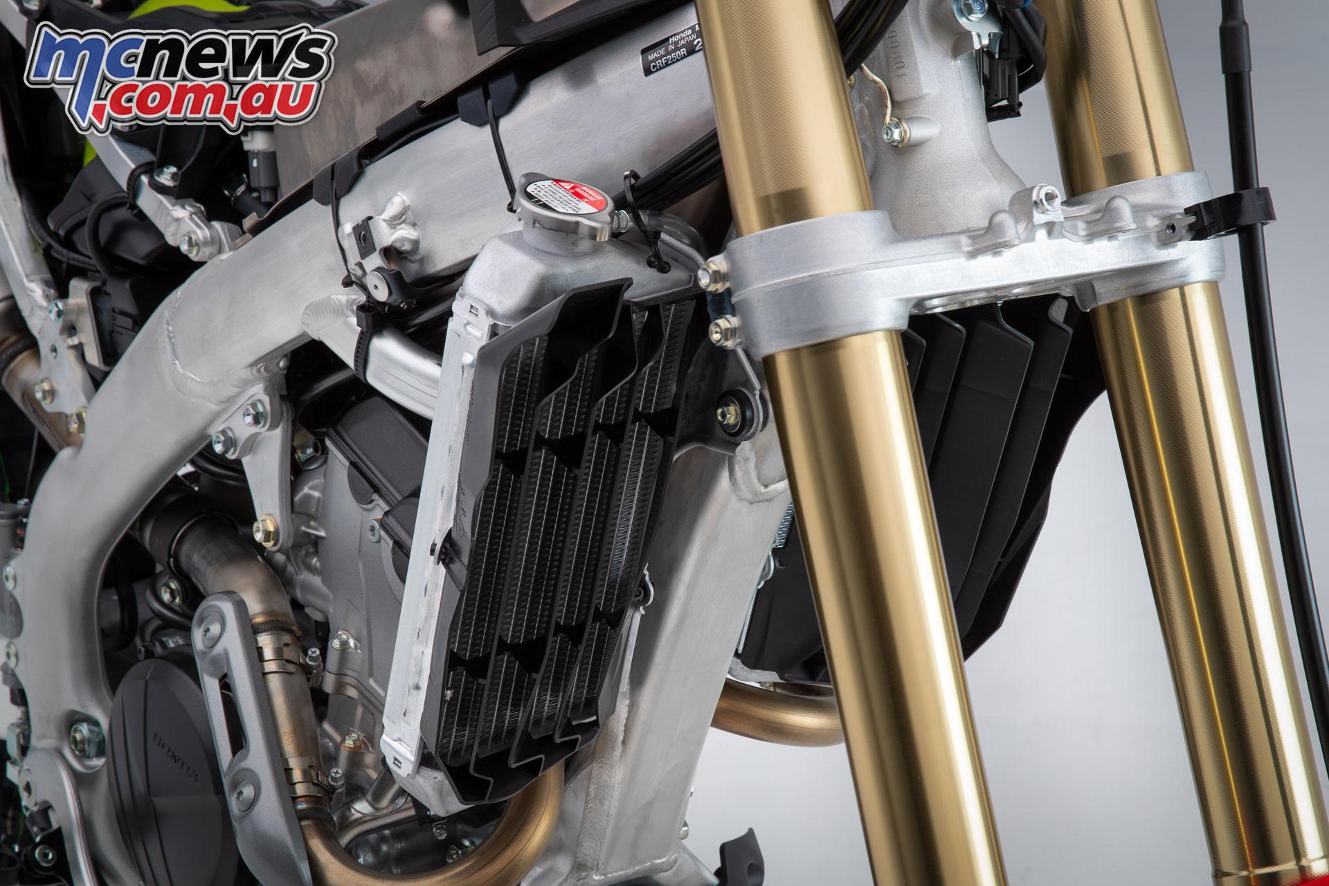 Honda CRFR fork