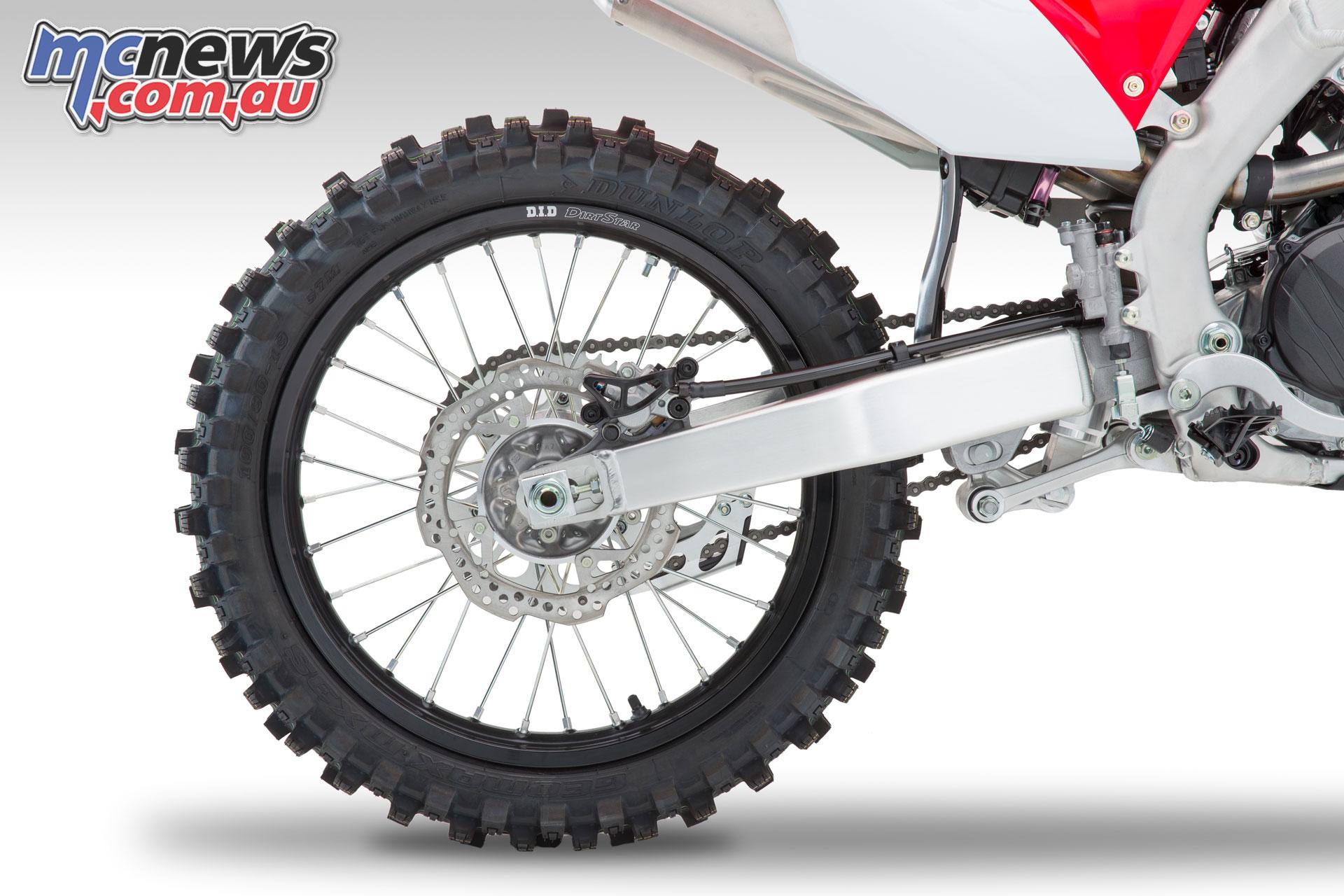 Honda CRFR rear wheel