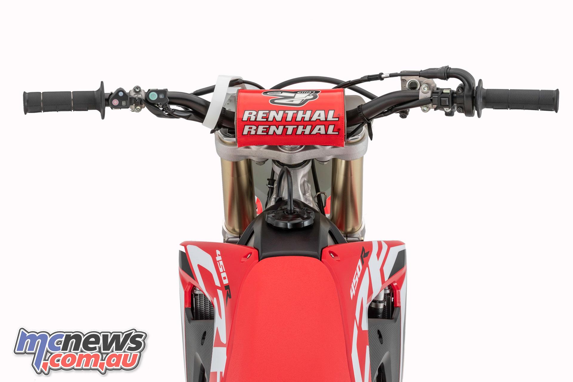 Honda CRFR handlebar