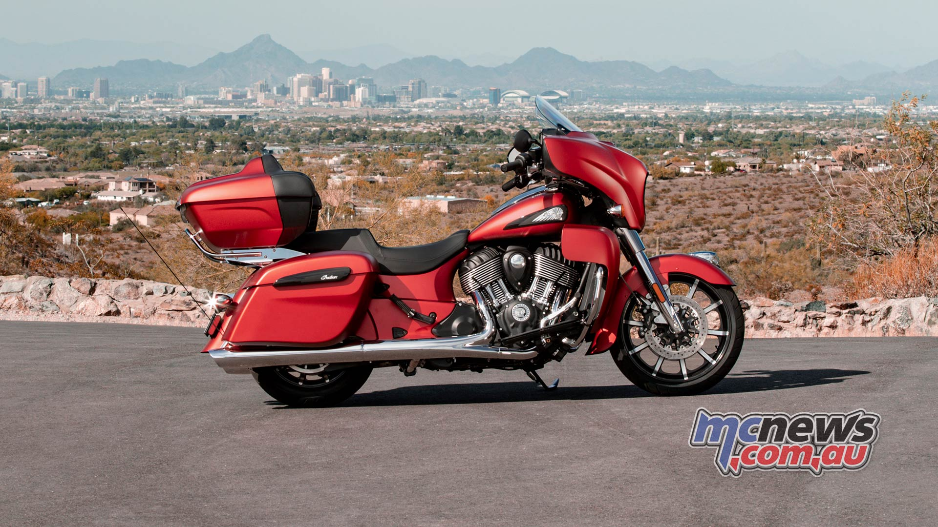 Indian Roadmaster Dark Horse rubysmoke beauty ab v