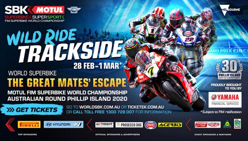 World SBK Australia Tickets