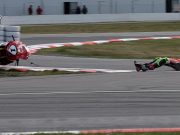 ASBK Rnd RbMotoLens Herfoss Crash