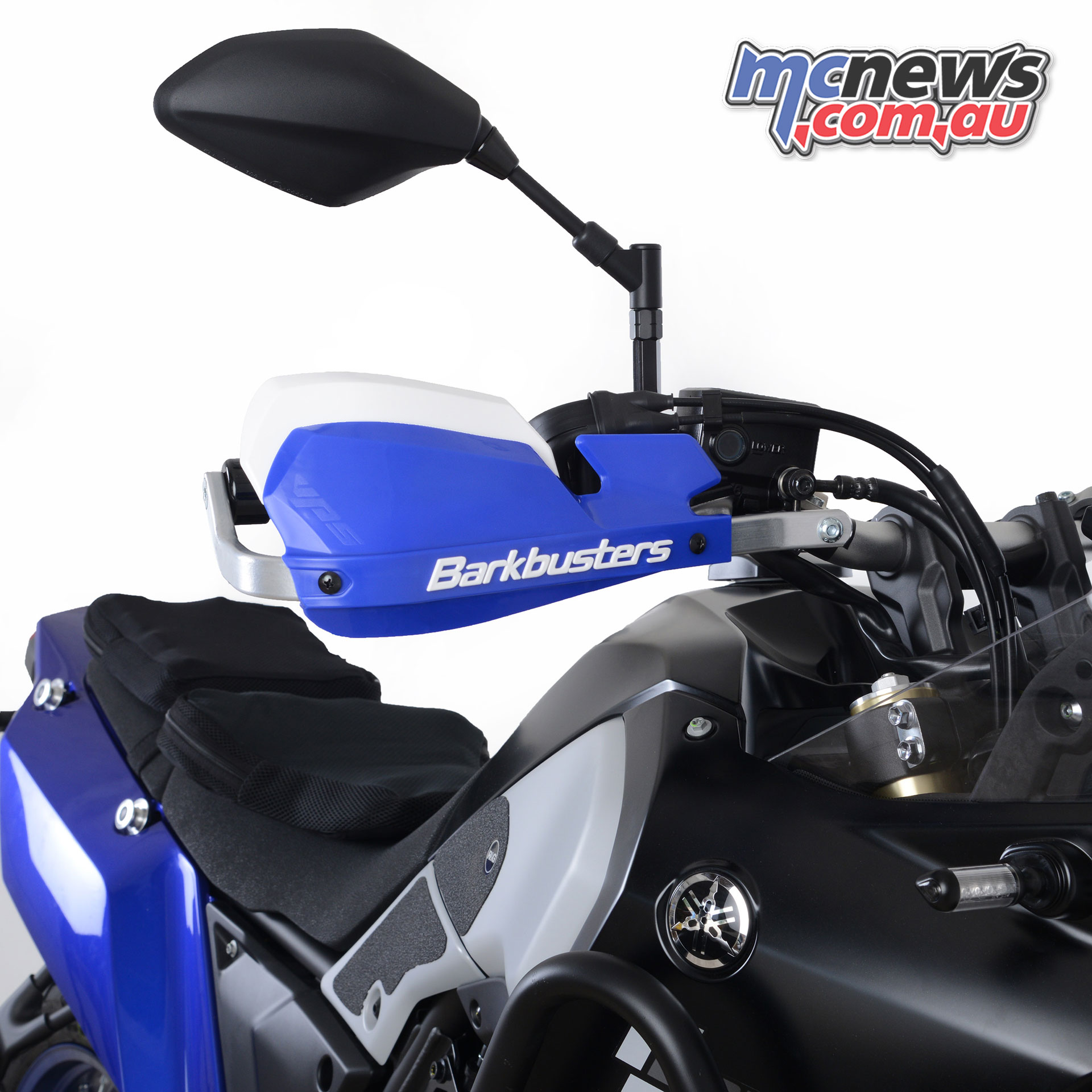 Barkbusters Tenere Yamaha T fitted with BHG VPS