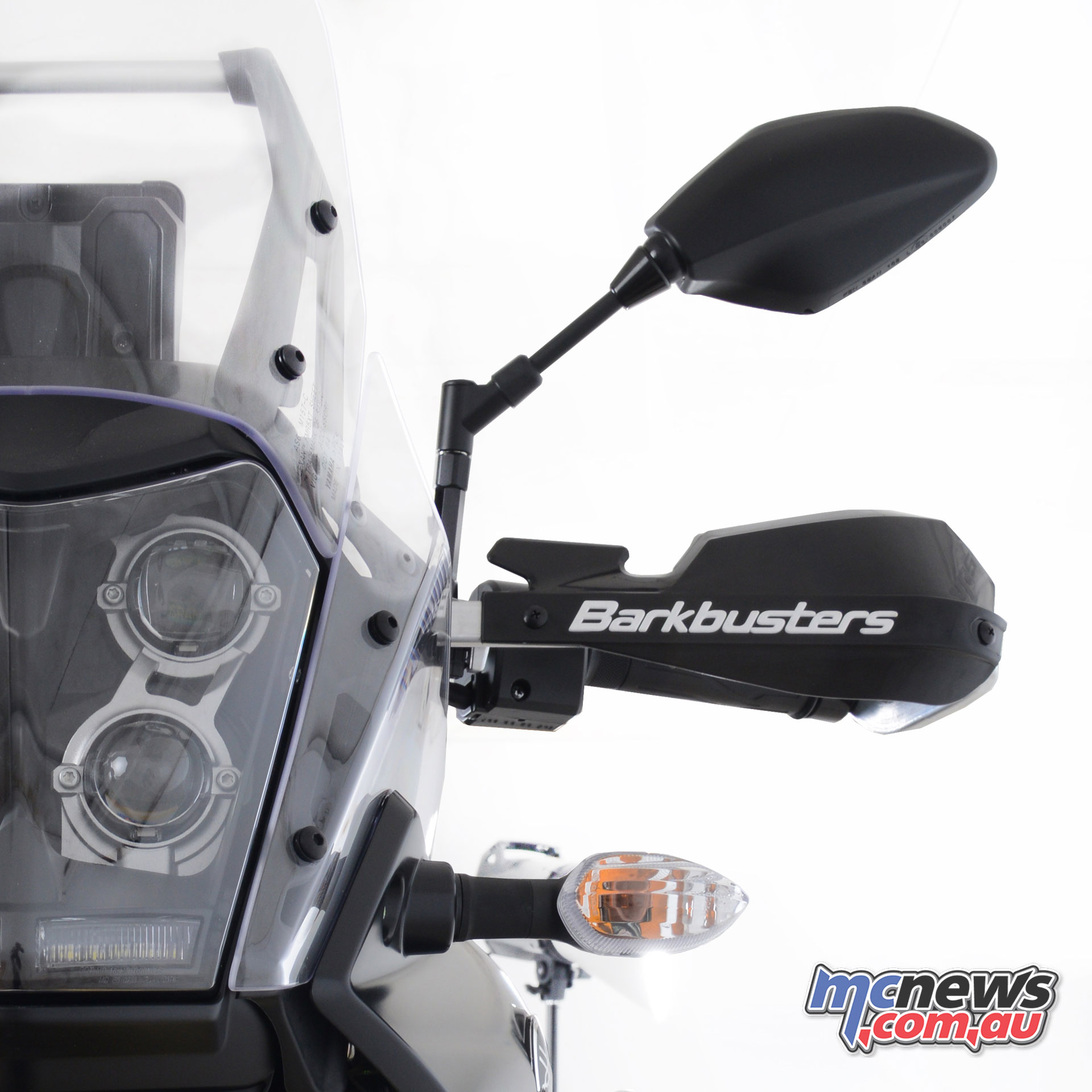 Barkbusters Yamaha Tenere T fitted with BHG VPS a
