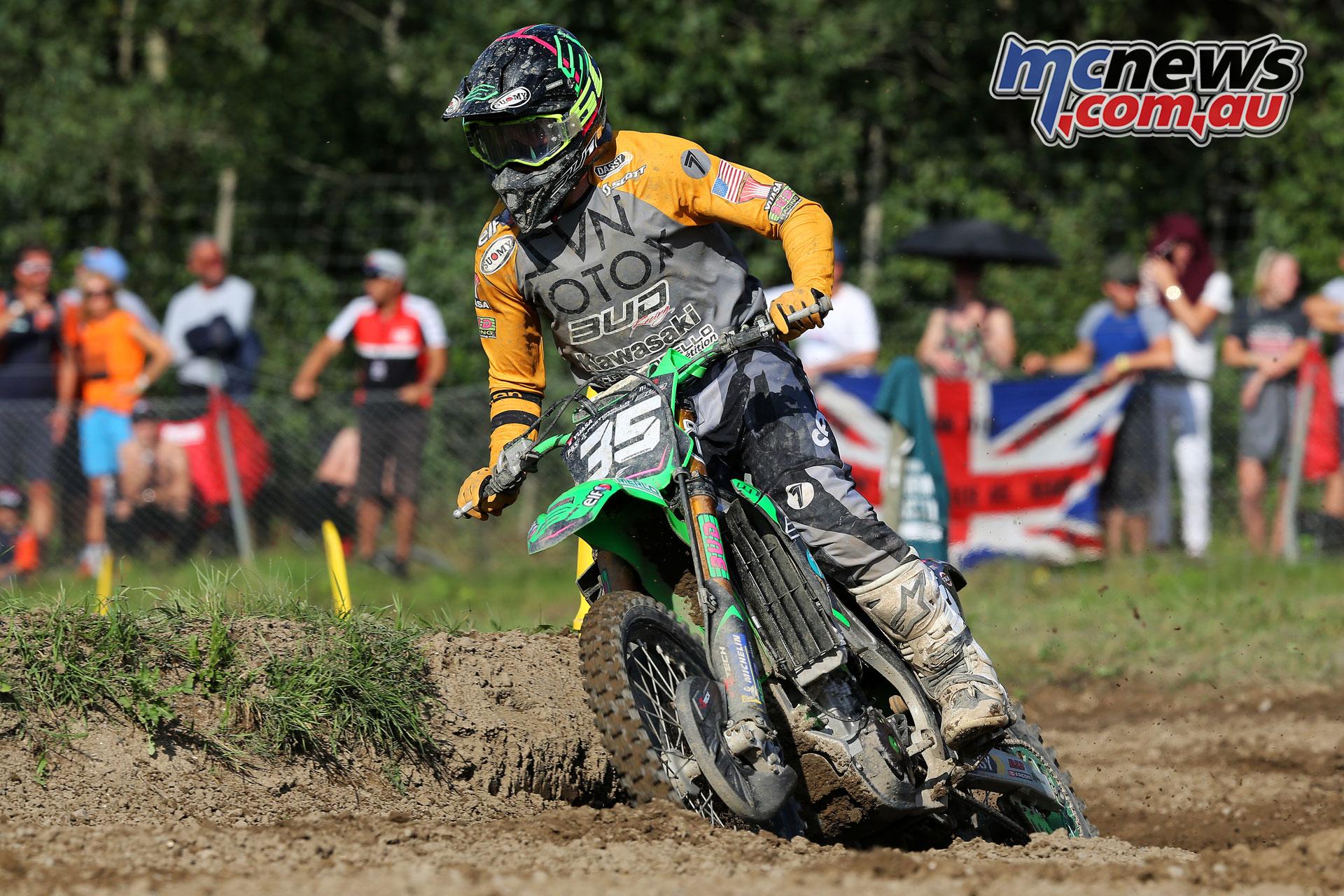 Bud Racing Kawasaki Mitchell Harrison