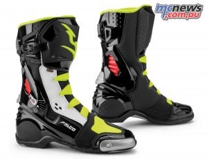 Falco FAL Eso Race Black White Red Fluo