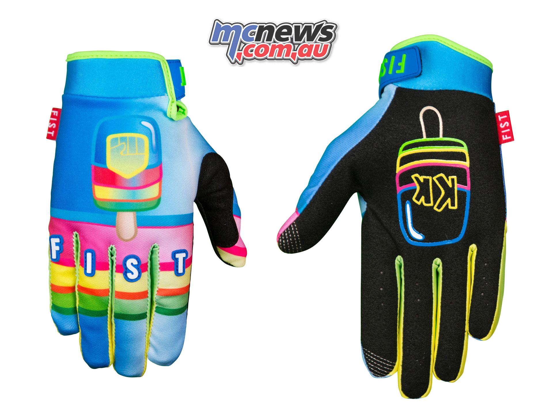 Fist Handwear Spring ICYPOLE Back
