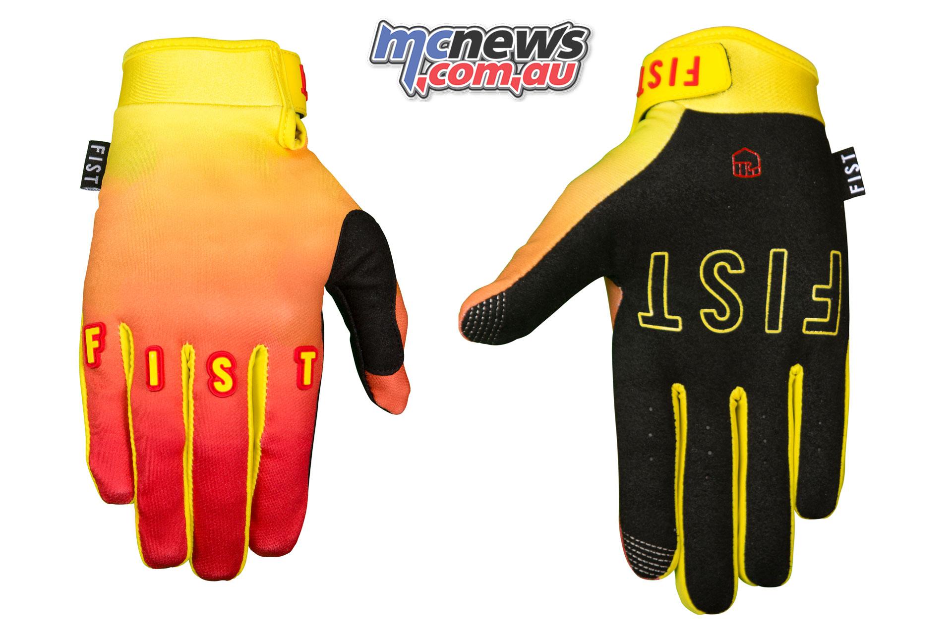 Fist Handwear Spring SUNRISE Back