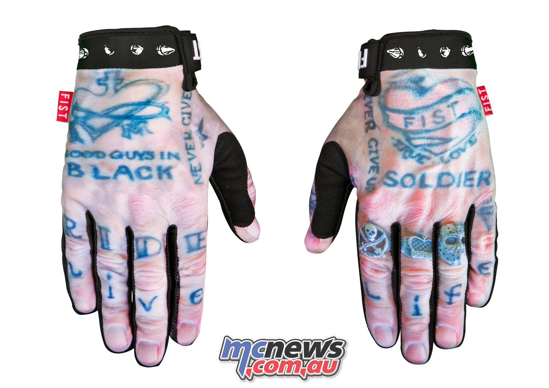 Fist Handwear Spring THORNE Back