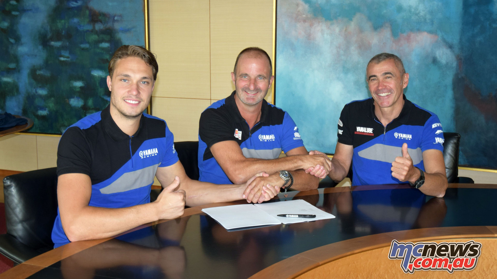 Hutten Metaal Yamaha Official EMX Team
