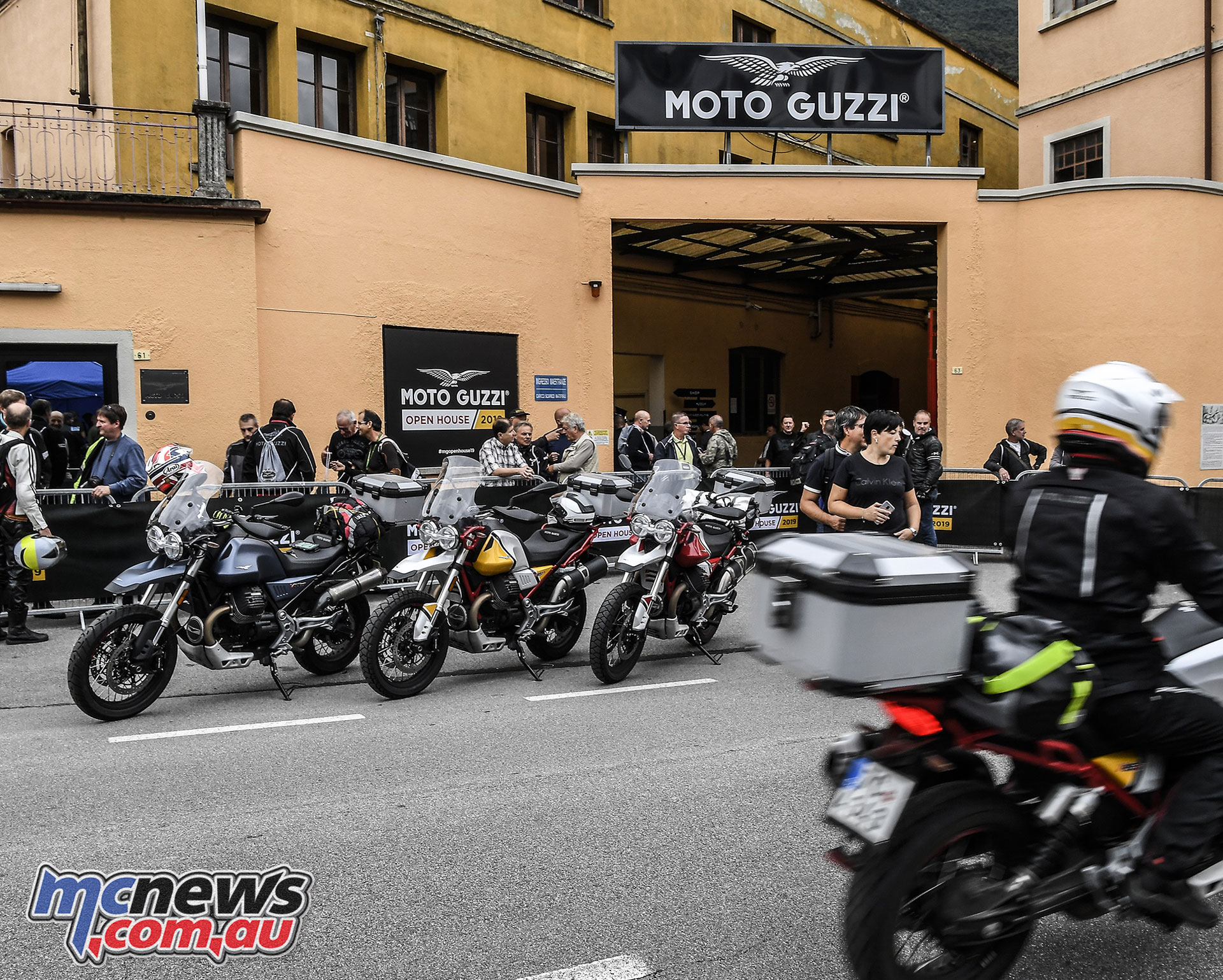 Moto Guzzi Open House Gate