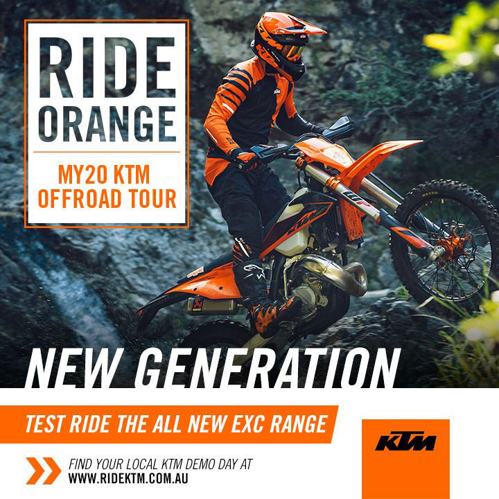 Ride Orange MY KTM Demo Tour