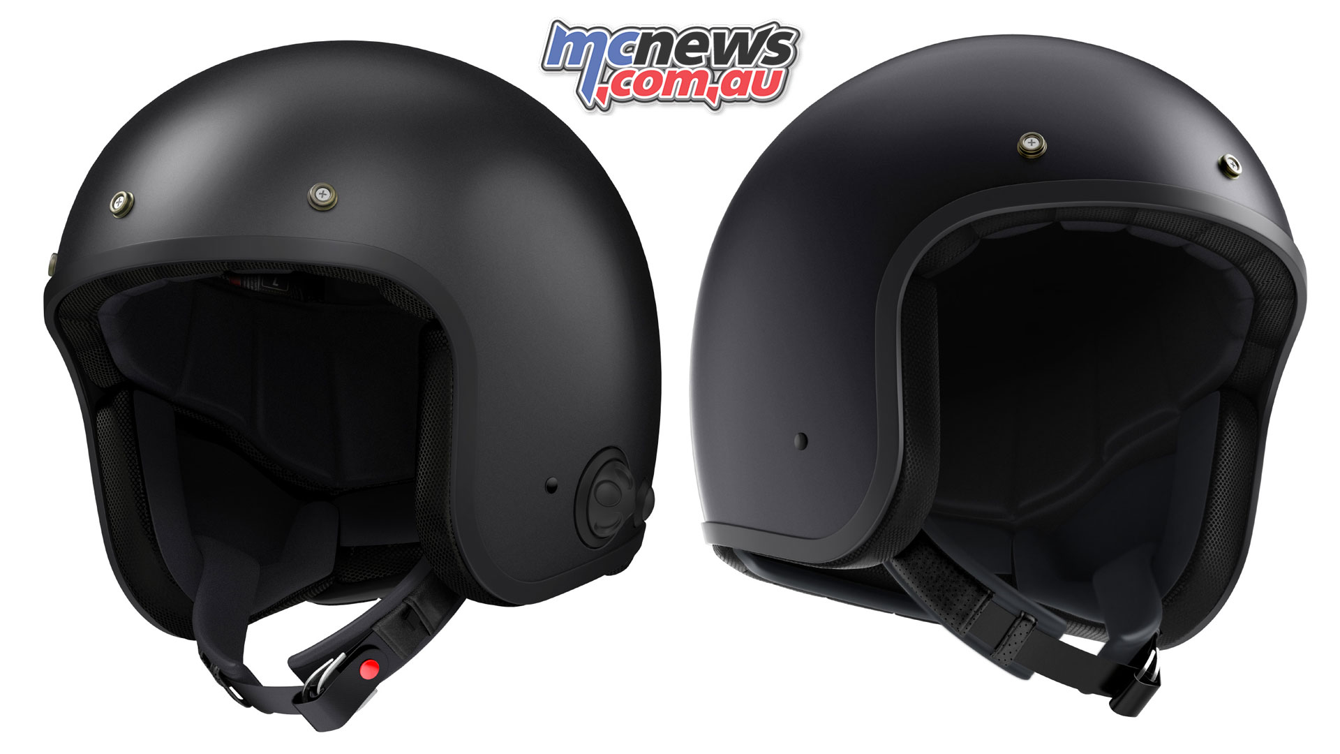 Sena Savage | Open face helmet with built-in communications