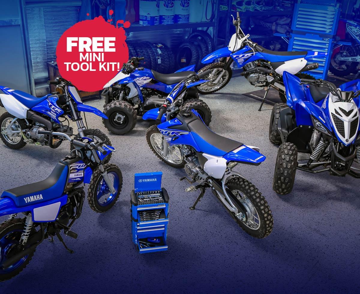 Yamaha Xmas FunBikes Toolkit All x