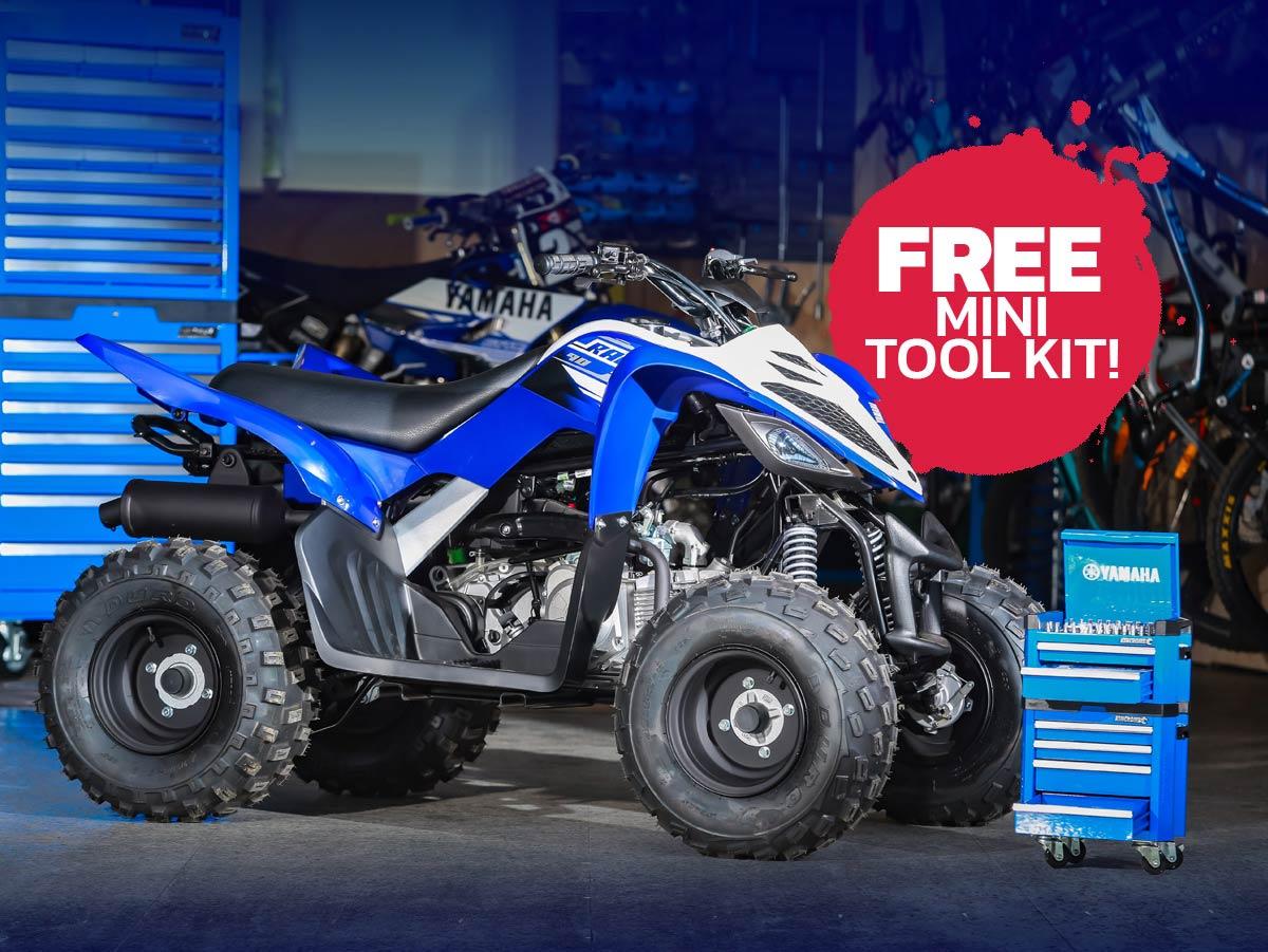 Yamaha Xmas FunBikes Toolkit Raptor x