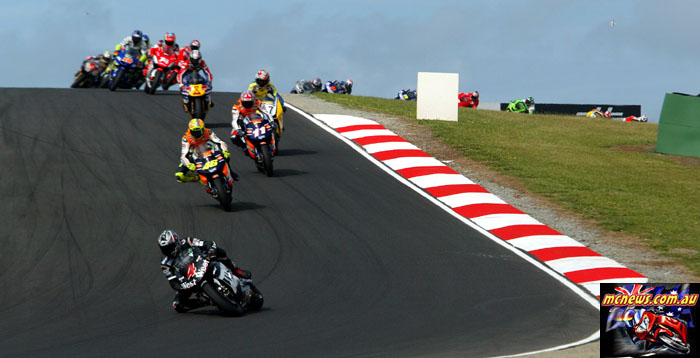 Austrlaian Grand Prix Barros EarlyLead