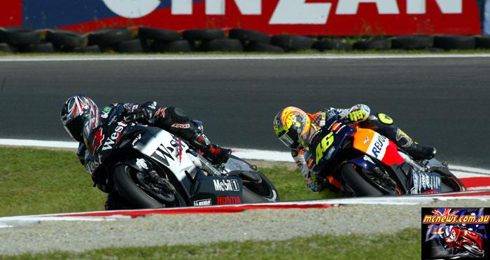 Austrlaian Grand Prix Barros Rossi