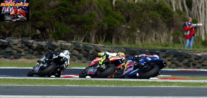 Austrlaian Grand Prix Barros Rossi McCoy