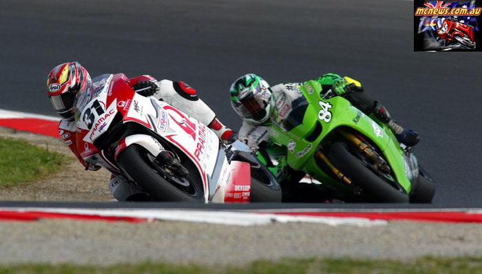 Austrlaian Grand Prix Harada Pitt