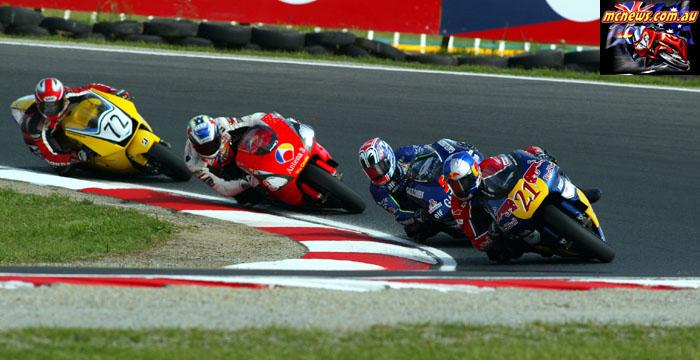 Austrlaian Grand Prix Hopkins Nakano Cardoso Itoh