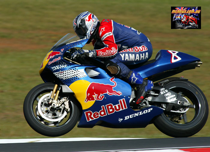 Austrlaian Grand Prix McCoy Side