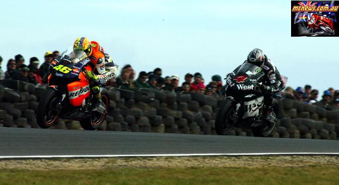 Austrlaian Grand Prix Rossi Barros