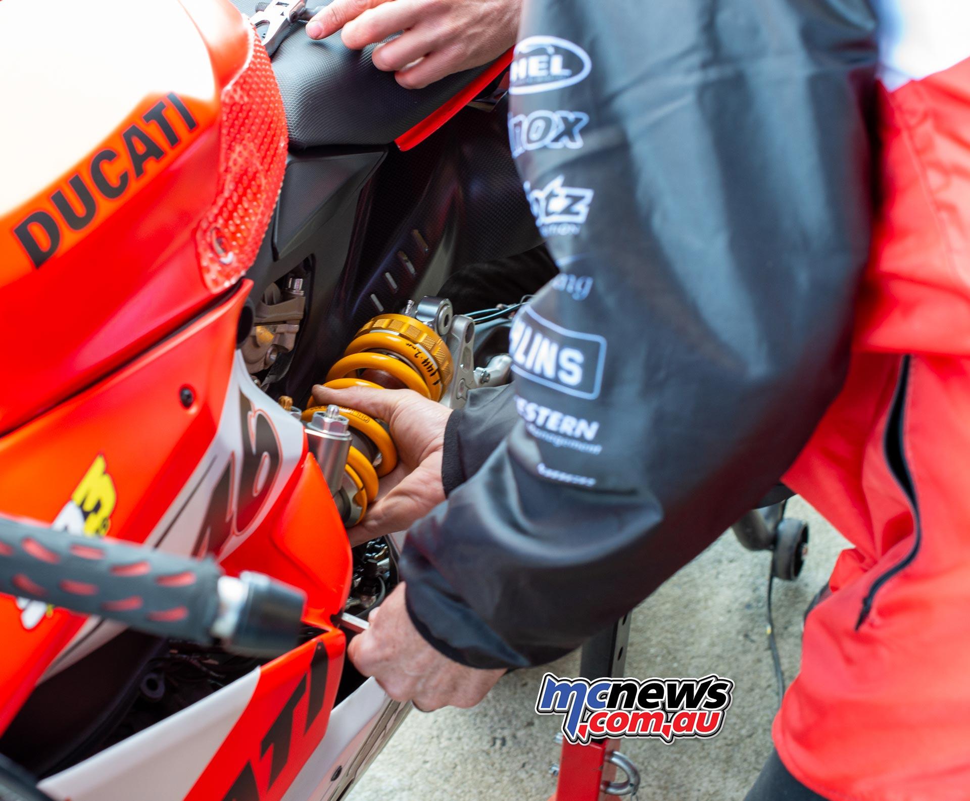 ASBK Rnd Phillip Island SatAM ShockChange Ducati