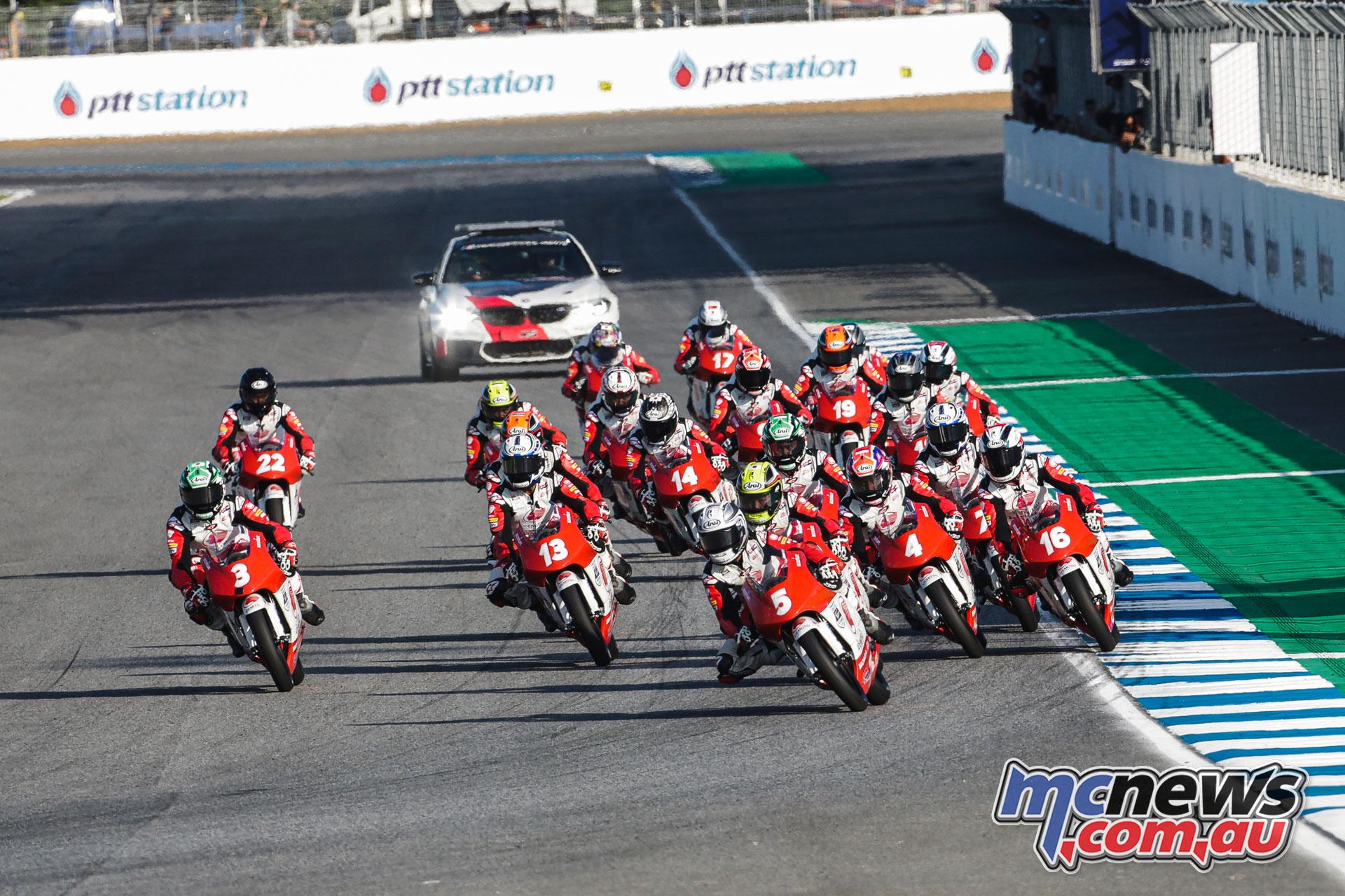 ATC Rnd Thailand Race Start ZA