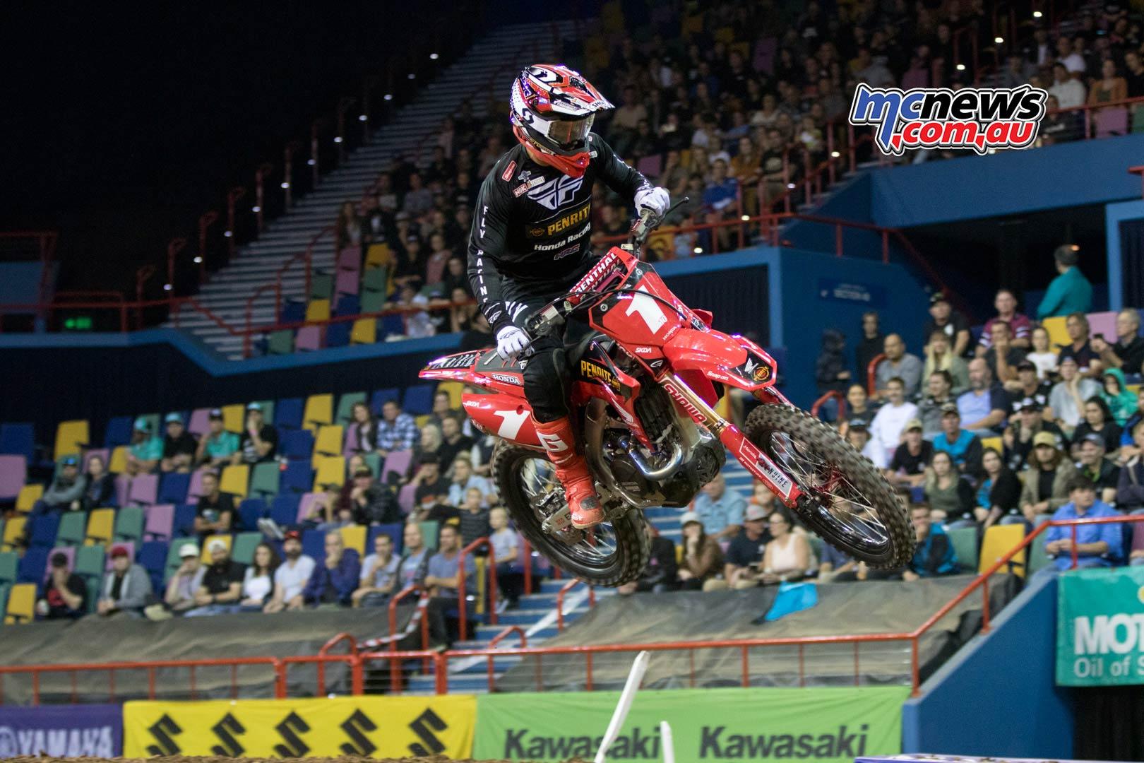 Australian Supercross Rnd Brisbane Brayton