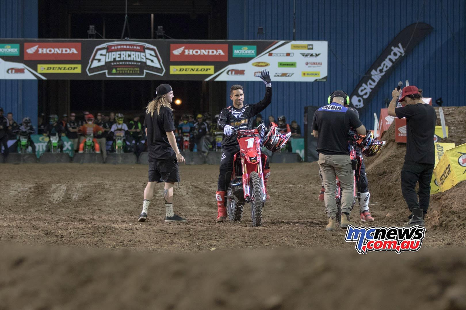 Australian Supercross Rnd Brisbane BraytonCrowd