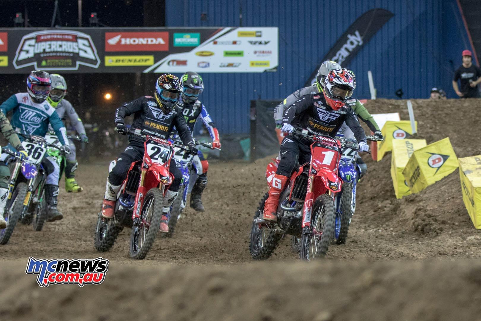 Australian Supercross Rnd Brisbane BraytonSXstart