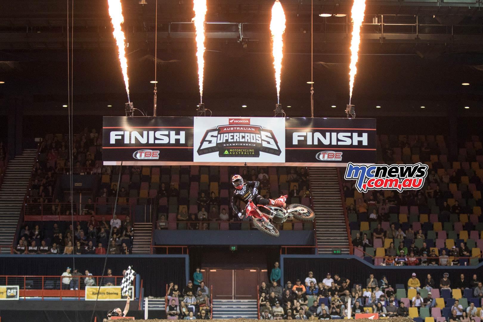 Australian Supercross Rnd Brisbane BraytonWin