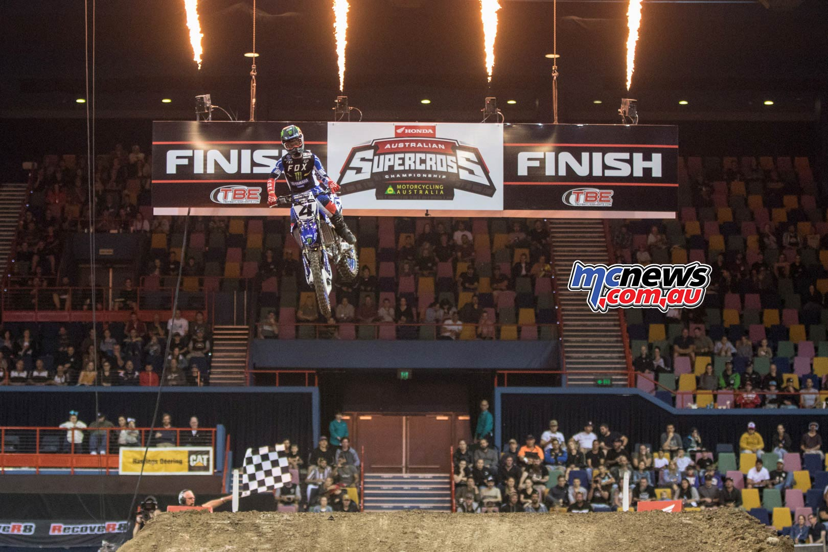 Australian Supercross Rnd Brisbane CloutWin
