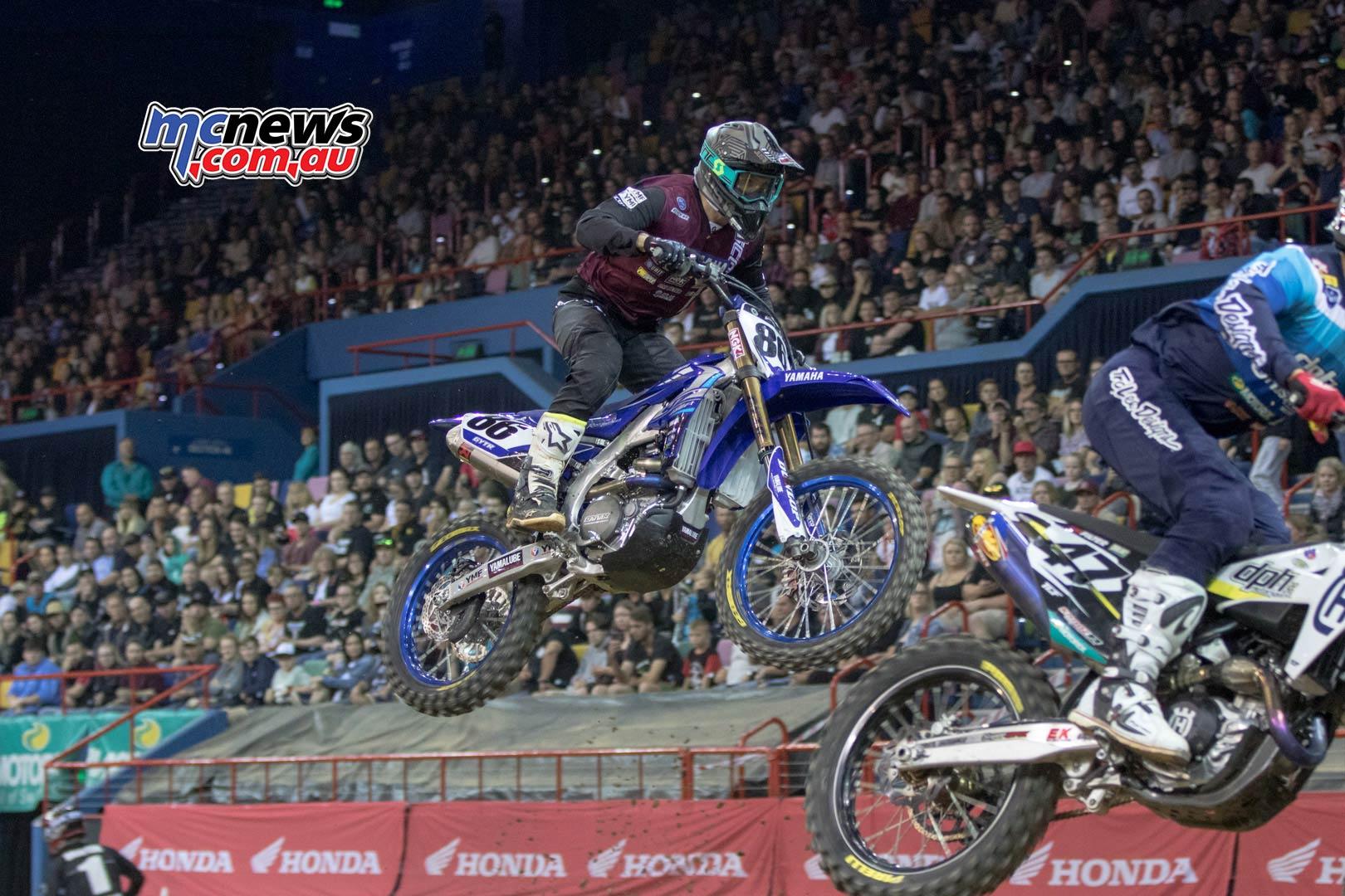 Australian Supercross Rnd Brisbane Evans